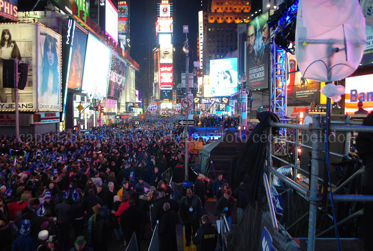 capodanno a new york 2012