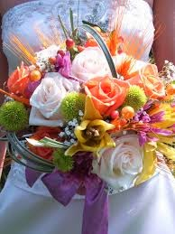 Shimmier with your summer wedding bouquet!