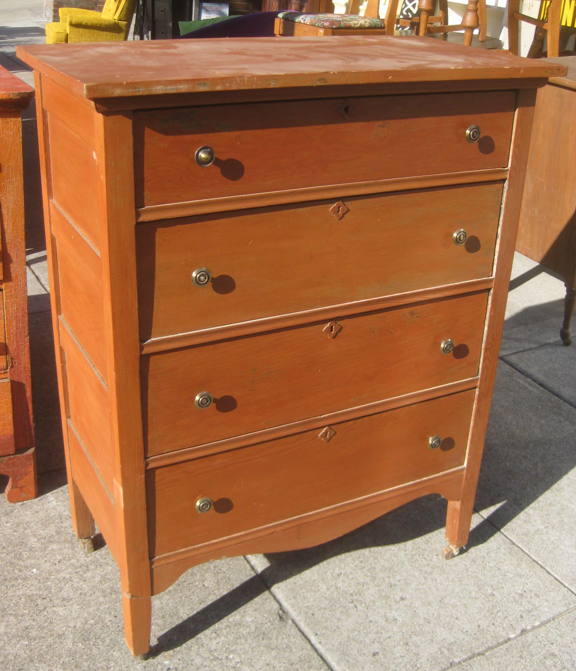 Uhuru Furniture Collectibles Sold Tall Chest Of