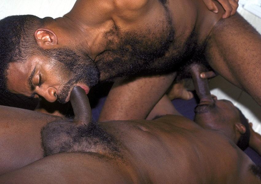 Порно геев чёрных фото