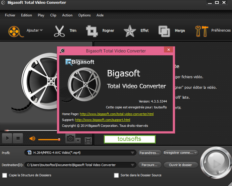 Download Software Bigasoft Total Video Converter 4.3.5.5344 Final