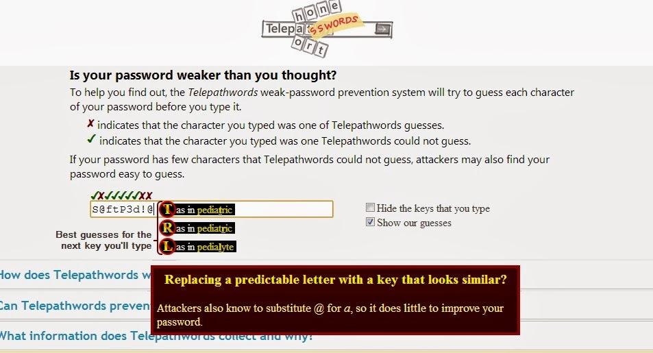 Telepathwords