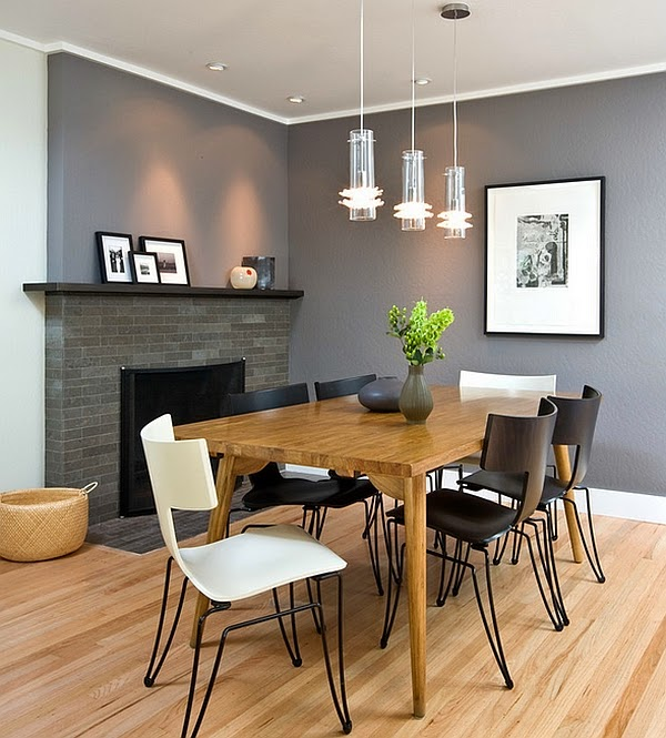 Comedor con chimenea colores en casa for Comedor con chimenea