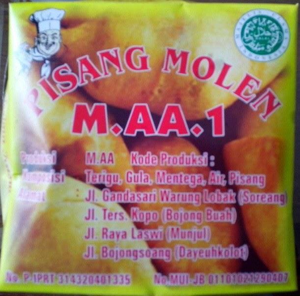 Pisang Molen Mang AA, Oleh – Oleh dari Kabupaten Bandung Yang Perlu Dicoba