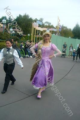 Princesse Rayponce pavillon des princesses Disneyland
