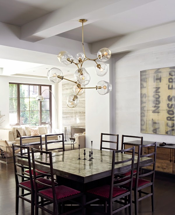 Love your space a knock off of un knock off able chandeliers - Lindsey adelman chandelier knock off ...