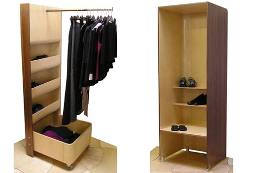 Simple wardrobe designs for small bedroom home for Wardrobe ideas for small rooms