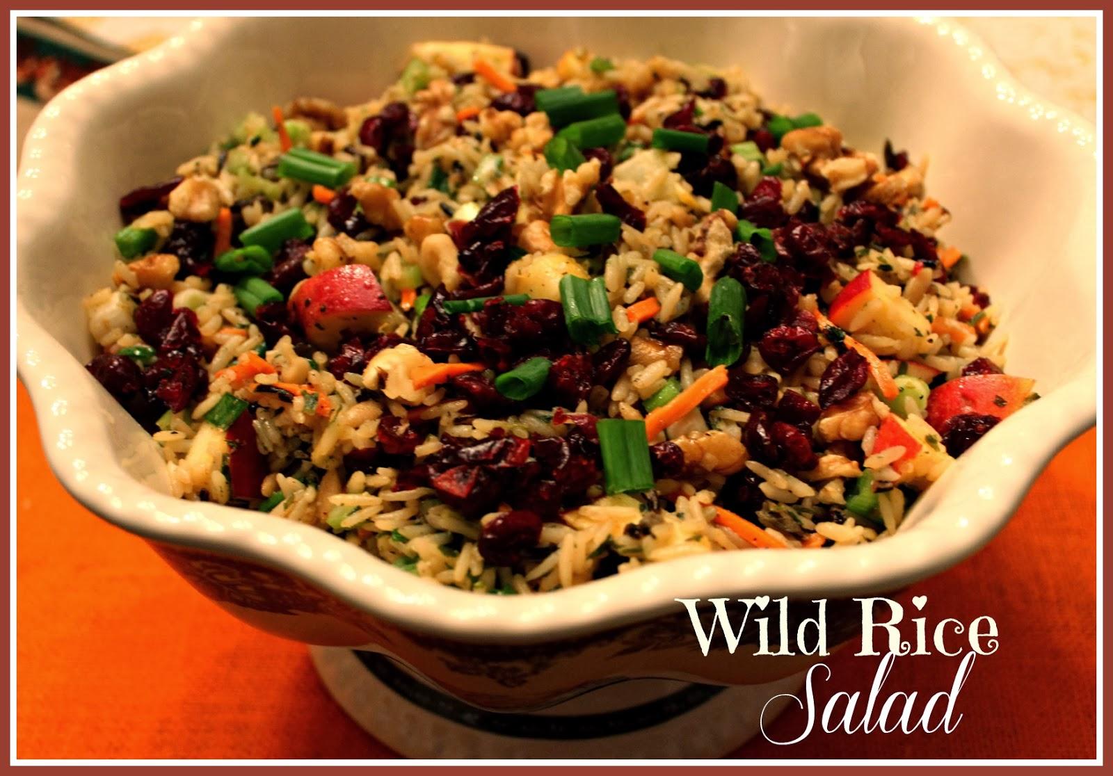 Wild Rice Salad Recipe — Dishmaps
