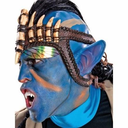 Orejas de na'vi cosplay Avatar