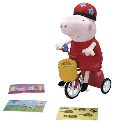 TOYS : JUGUETES - PEPPA PIG  Peppa y su bicicleta  Producto Oficial Serie Television 2015 | Bandai 84539  A partir de 2 años | Comprar en Amazon España