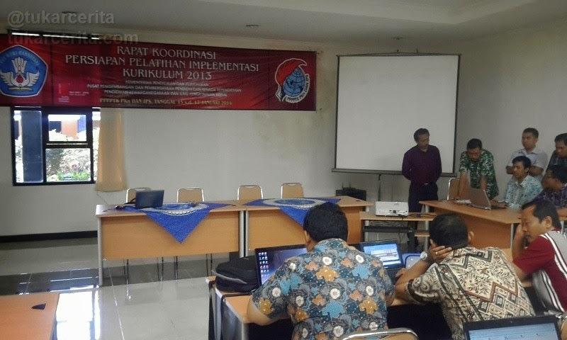 Rapat Koordinasi Persiapan Kurikulum 2013 pada tahun 2014