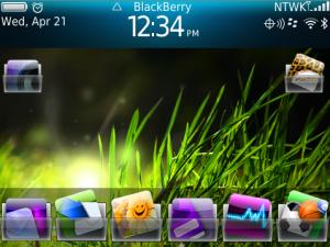 Buat BlackBerrymu Tembus Pandang Dengan Transparent icon