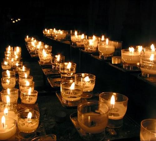 Neo arquitecturaymas velas para decorar una mesa en el jard n - Velas jardin ...
