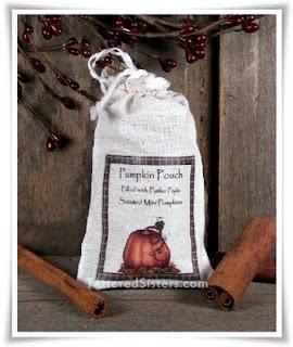 Primitive Pumpkin Pouch