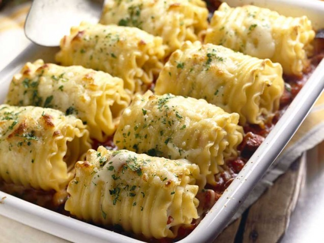 Chicken and Cheese Lasagna Roll-Ups | Cook'n is Fun - Food ...