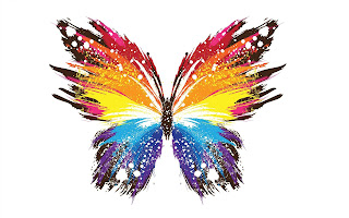 Beautiful Abstract HD butterfly Wallpaper
