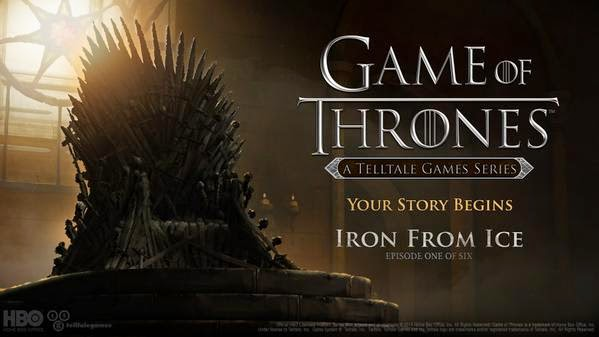 Game of Thrones Videogame from TellTale Games, to be launched this year