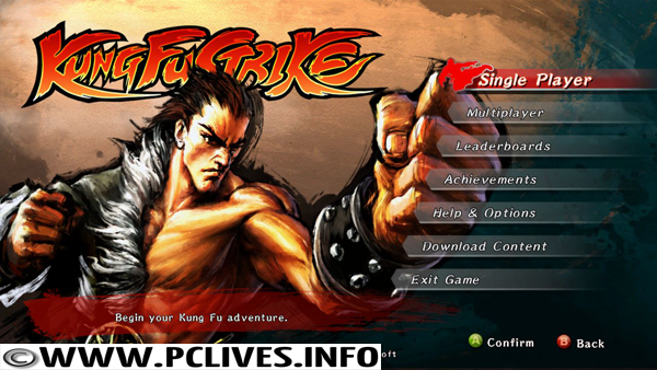 download full version pc game Kung Fu Strike The Warriors Rise 2012