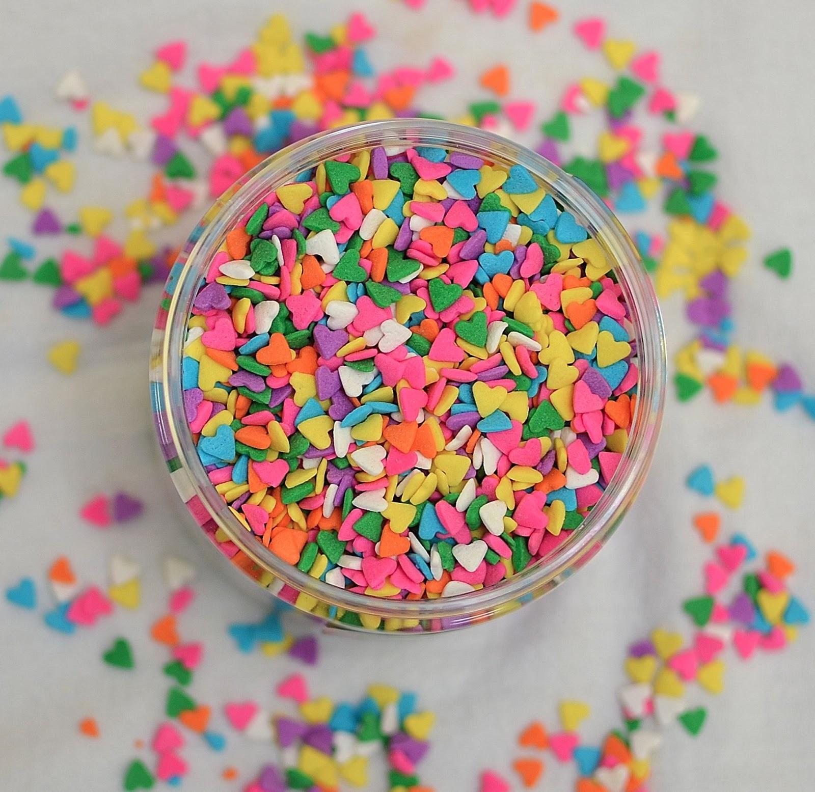 types of sprinkles