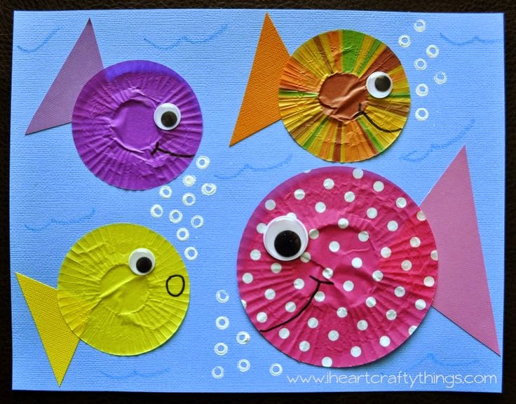 Игра раскраска рыбок