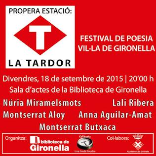 Festival de poetes a Gironella!