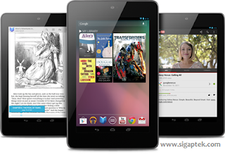 harga tablet gooogle nexus 7, asus nexus 7 spesifikasi lengkap, spek tablet nexus 7 detail