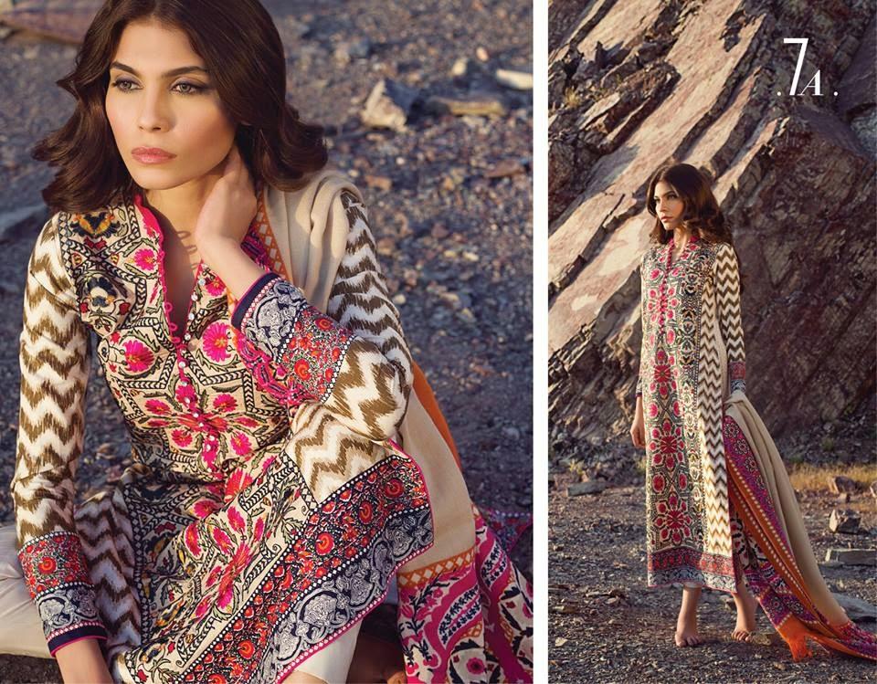 Fall Winter Shawl Dresses 2014