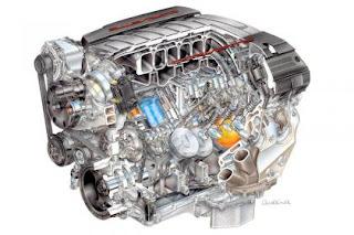 Chevrolet Corvette Engine