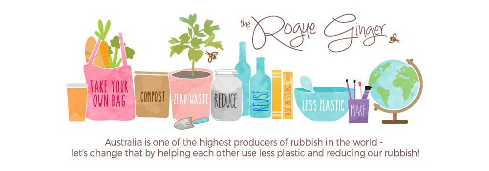 The Rogue Ginger - zero waste and plastic free