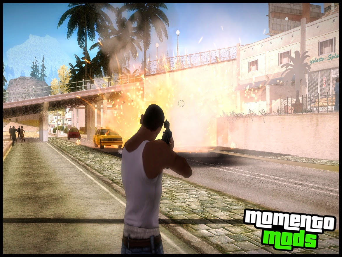 GTA SA - Mod GTA 5 Light Gun (Luz Nas Armas Do GTA 5)