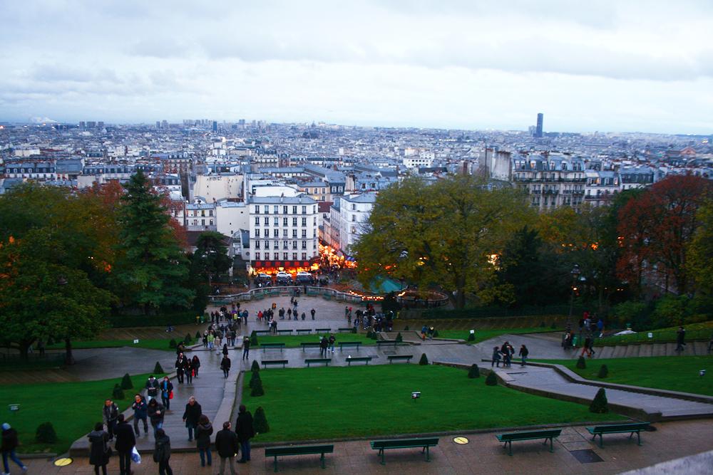 Paris on Christmas