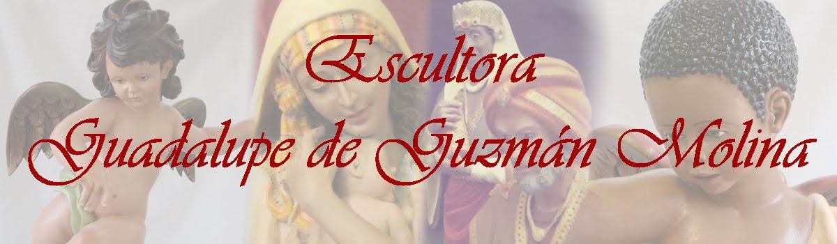 Escultora Guadalupe de Guzmán Molina