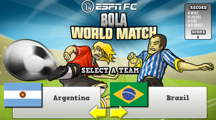 Play Bola World Match  Online 3d Games