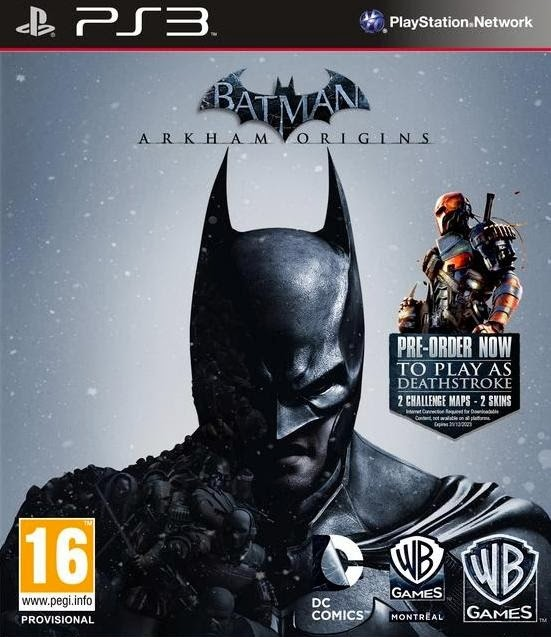 Download - Jogo Batman Arkham Origins Special Edition PS3-ANGELiC (2013)