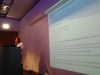 Zoe Picton-Howell speaking