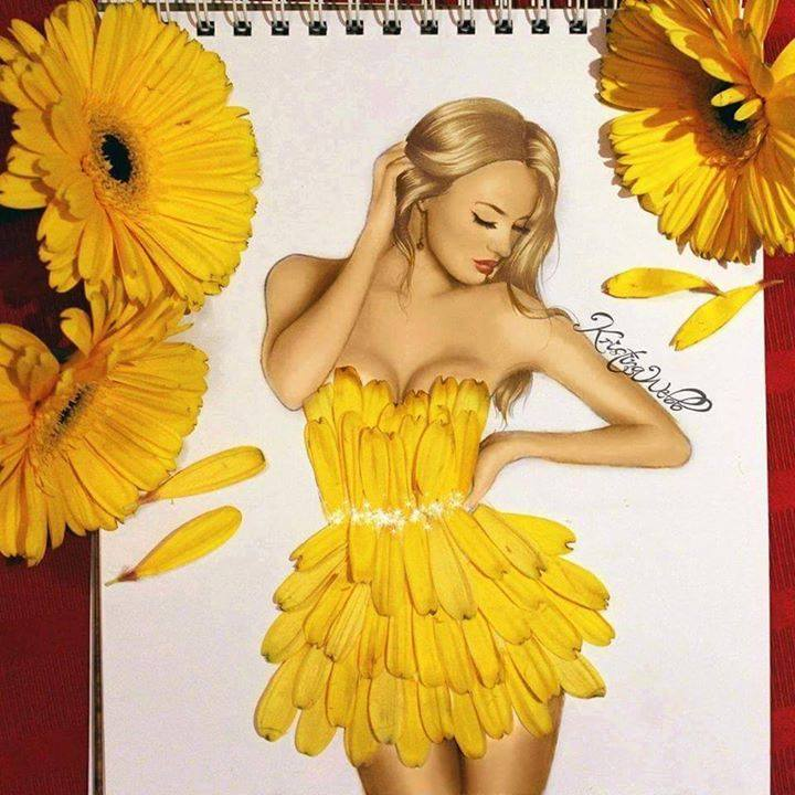 Beautiful Color Pencil Drawings & Creative Artworks 6