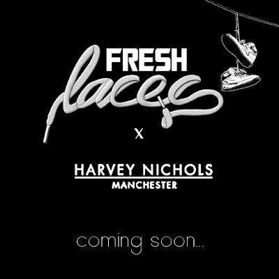 fresh laces, harvey nichols, FLxHN, sneaker event, sneakerheads, Manchester event