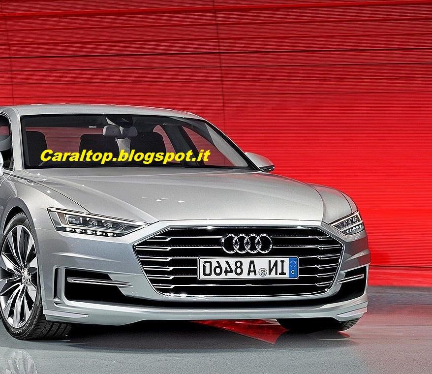 Car Al Top 33: Audi A8 2016: Ecco L'aspetto Della Quarta