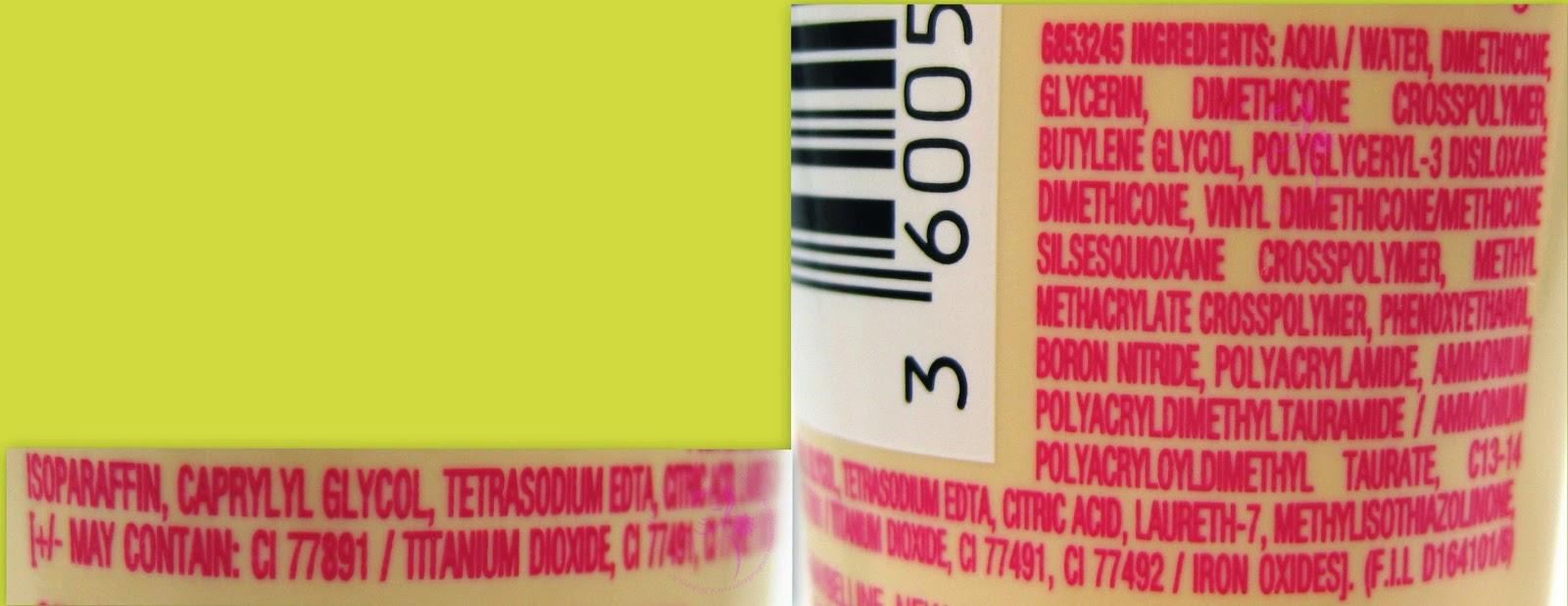 Maybelline - Baby Skin - Il minimizza-pori istantaneo Warm Apricot - INCI