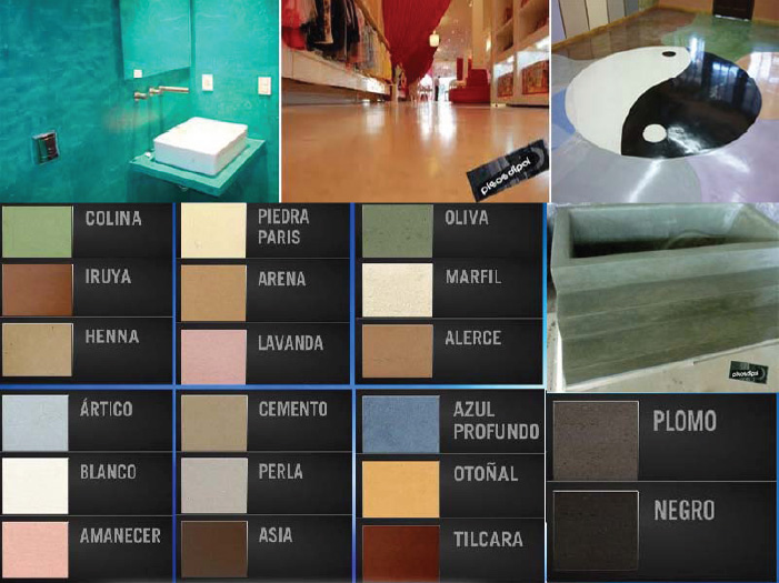 Arquidry arquitectura en seco mayo 2012 for Cartilla de colores