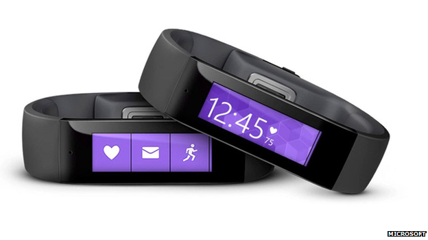 Microsoft unveils $199 wearable fitness device
