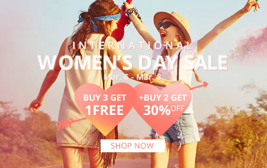 ZAFUL WOMEN'S DAY
