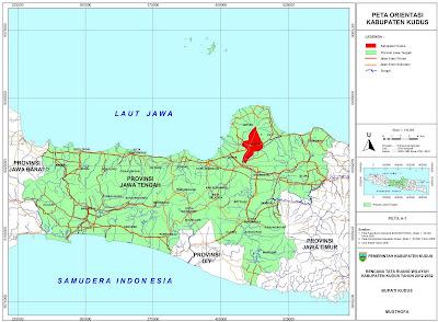Peta Orientasi Kabupaten Kudus
