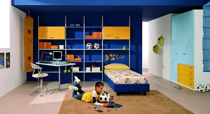 desain kamar tidur elegan walau dengan ruang yang sempit