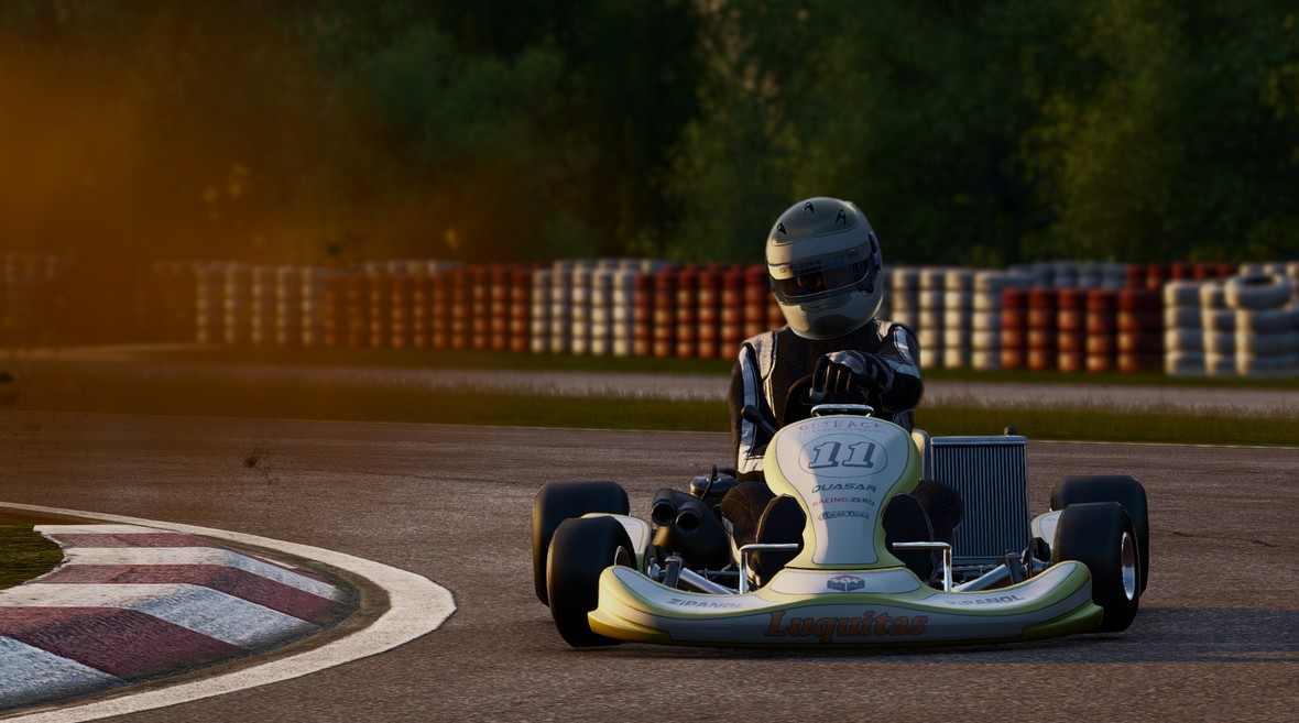 Project Cars Videos: Caterham / Kart