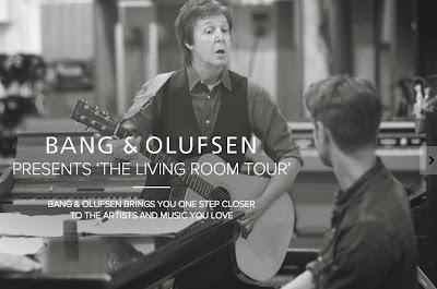 The Beatles Polska: Paul McCartney w projekcie Bang&Olufsen