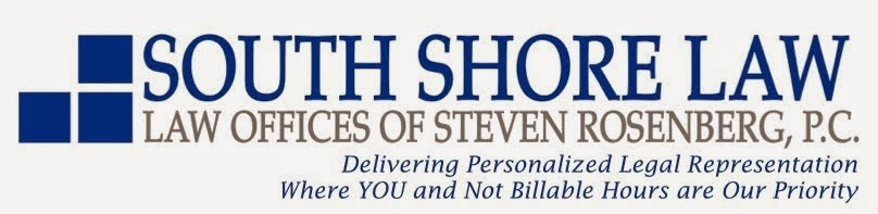 """The Law and You"" Legal News and Notes of Interest from the Attorneys of South Shore Law"
