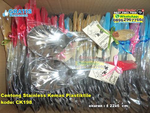 Centong Stainless Kemas Plastiktile jual