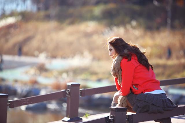5 Winter with Eun Bin-Very cute asian girl - girlcute4u.blogspot.com