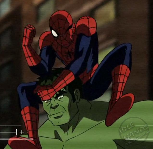 ultimate spider man vs the hulk